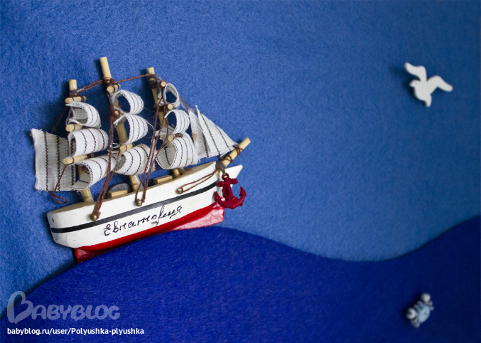 Рамка в морском стиле своими руками