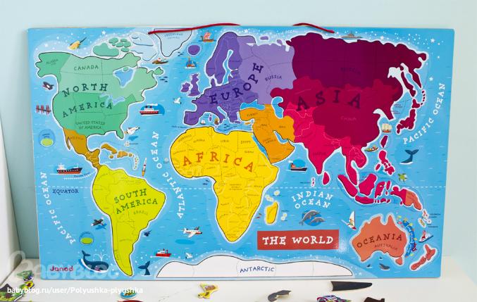 как перекрасить магнитную доску в карту мира