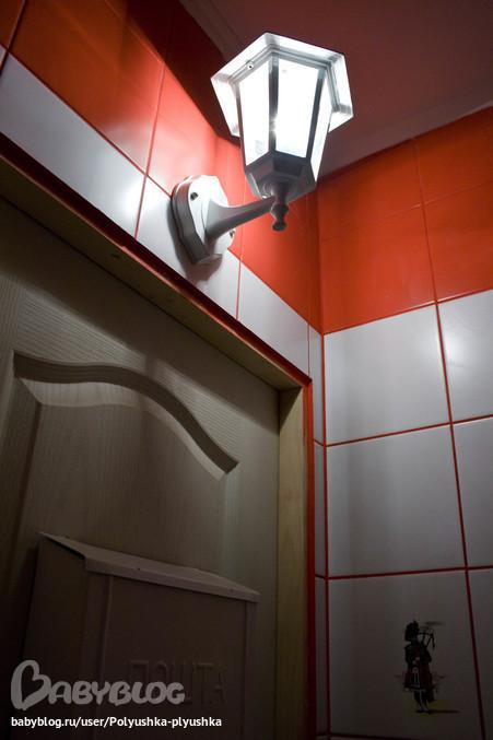 Светильник в туалет настенный своими руками 23