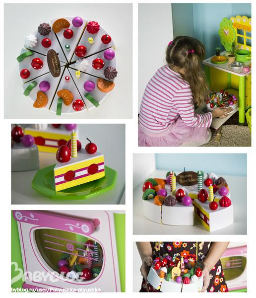 Торты из пластилина для детей фото 7