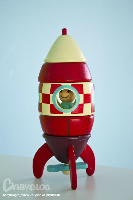Ракета  из фанеры 133