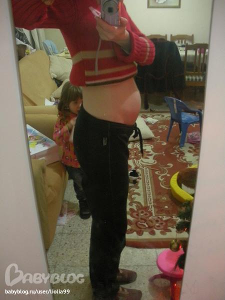 10 недель акушерской беременности живота
