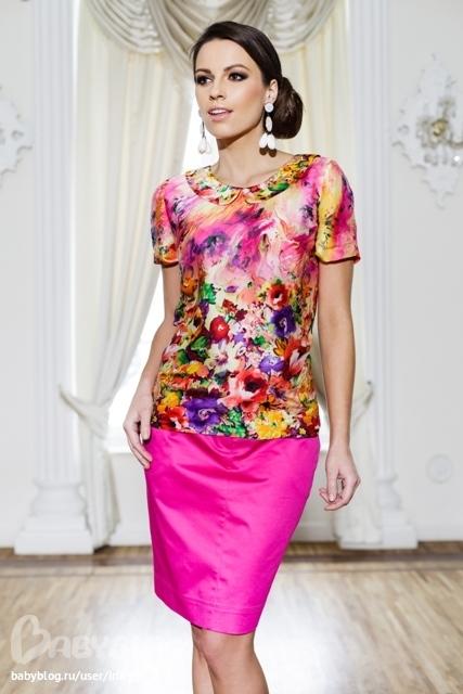 Блузка Летняя Коллекция