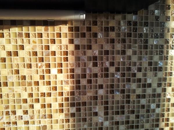 Затирка швов мозаики в ванной своими руками 42