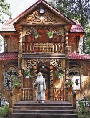 фото сказочный дом деда мороза