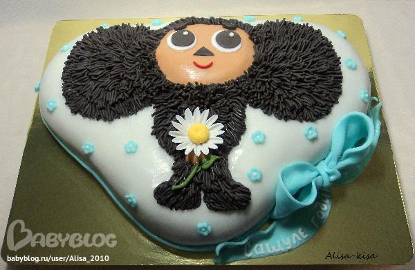 Простыеы тортов детские