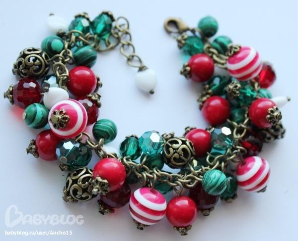 Красивые браслеты из бусинок своими руками