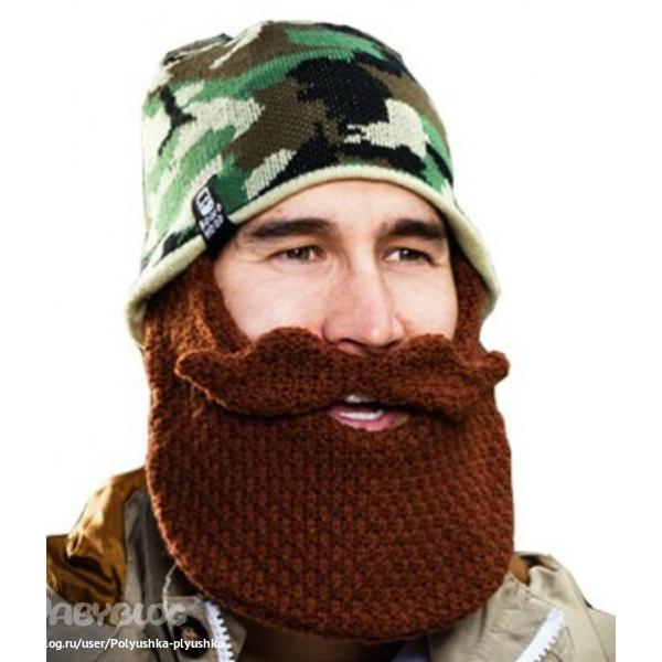 Шапка с бородой 11