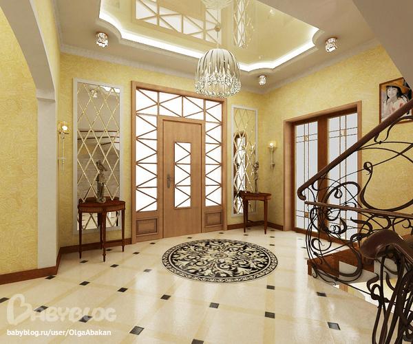 Фото дизайна холла в доме