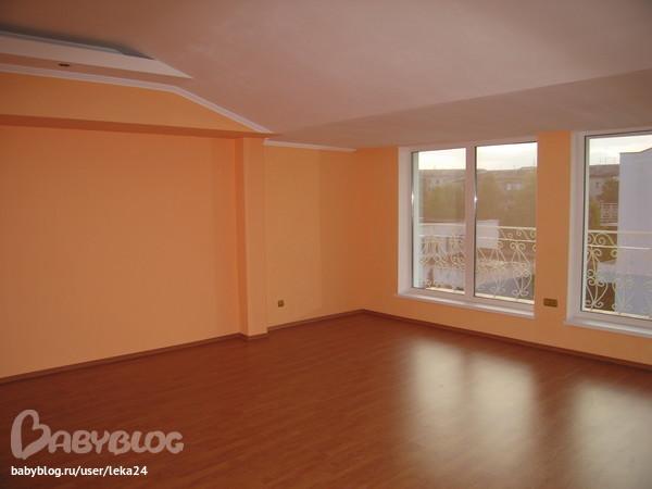 Стены персикового цвета фото