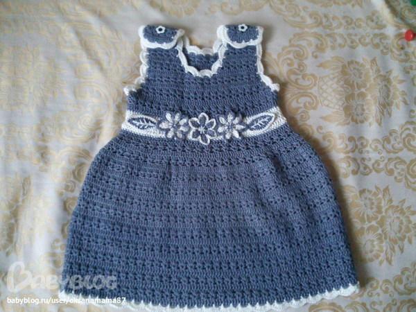 Теплые сарафаны для девочек (подборка) - Вязание - Страна Мам 60