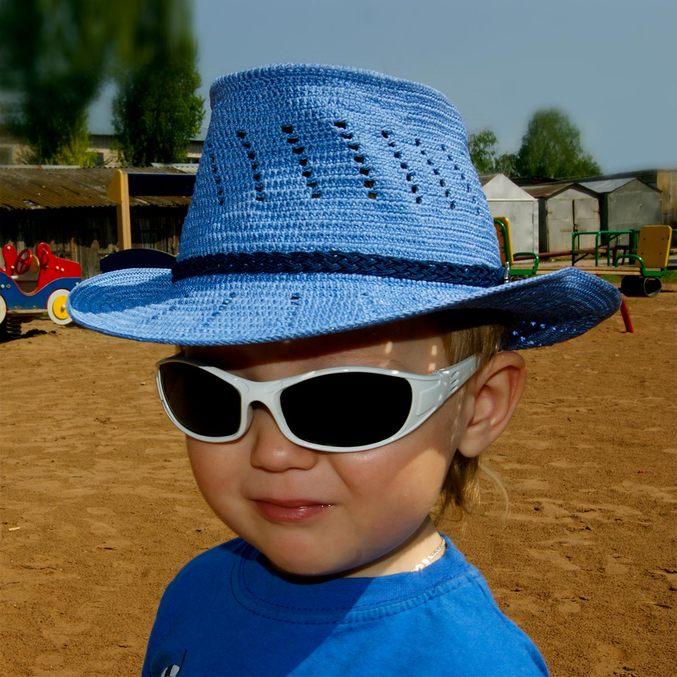 Шляпа мальчику своими руками 98