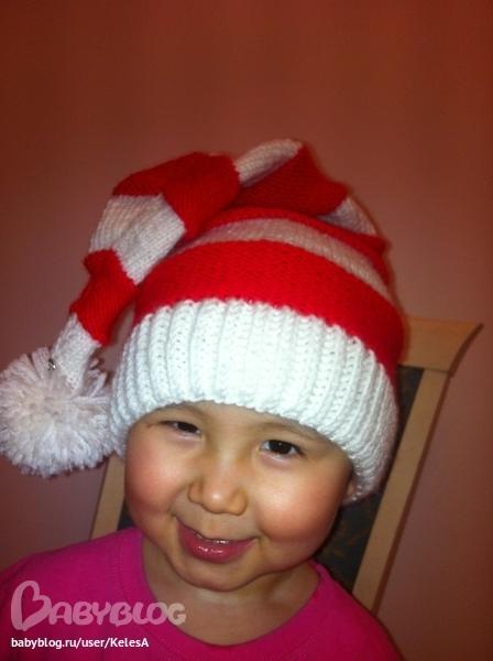 Как связать шапку колпак для ребенка