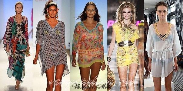 Модели Пляжных Туник