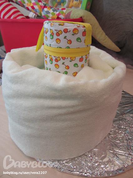 Мастер класс по торту из памперсов с