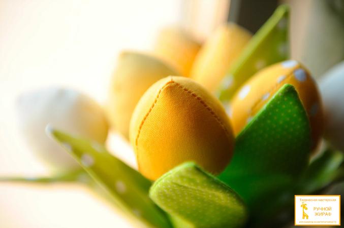Жёлтые тюльпаны)