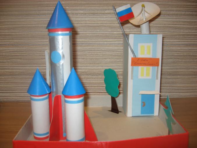 Поделки в садик к дню космонавтики