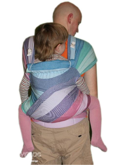 Май-рюкзак ящик-рюкзак для зимней рыбалки salmo