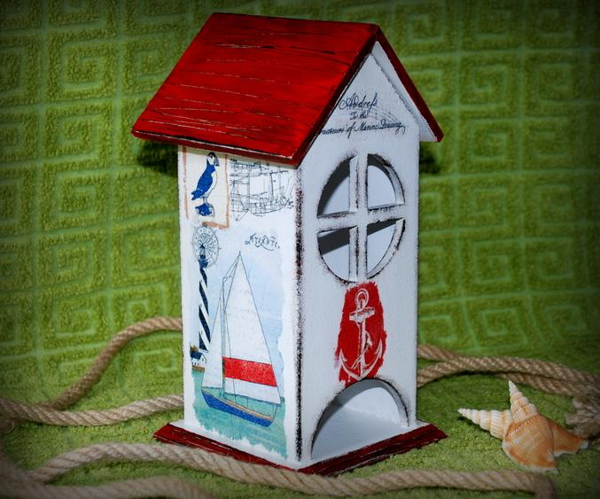 Чайный домик в морском стиле 120
