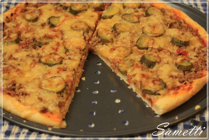 Тонкая пицца духовке рецепты фото