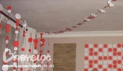 Украсить комнату к 1 годику своими руками