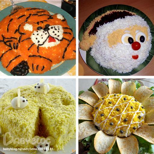 Детские украшения блюд своими руками