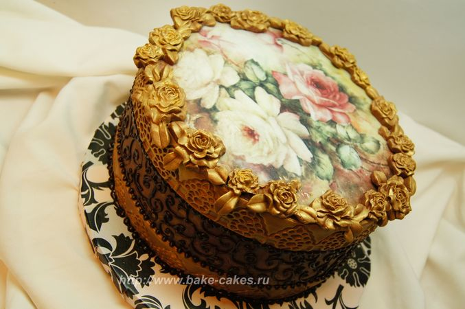 Как сделать бутафорский торт своими руками фото 977