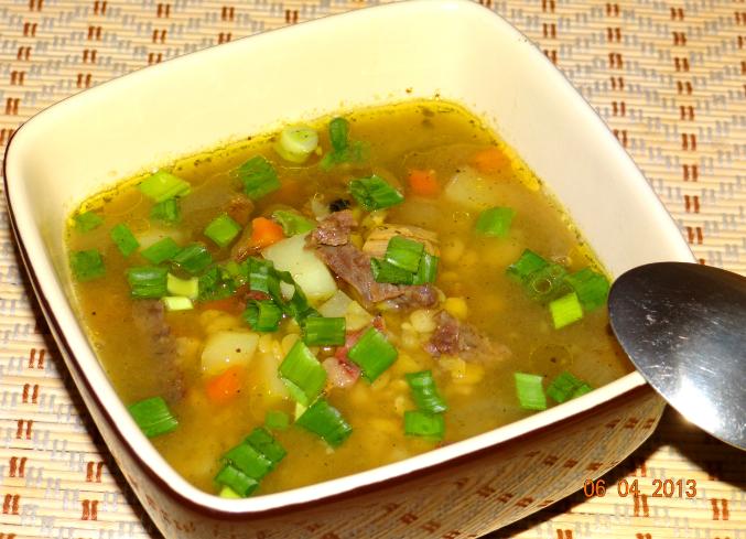 Как приготовить суп гороховый с мясом говядины рецепт пошагово