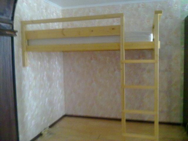 Как построить кровать чердак