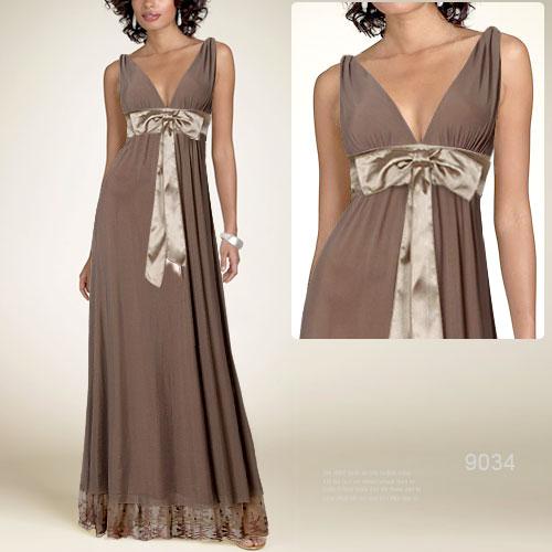 вязанное платье крючком в пол