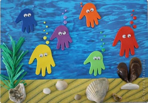 Поделки с детьми к морю