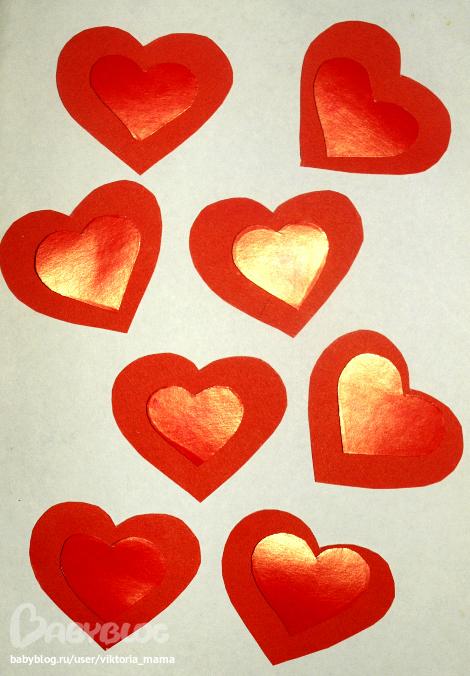 картинки сердечки для детей