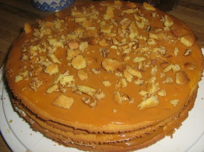 Торт муравейник из коржей бисквитных рецепт с фото