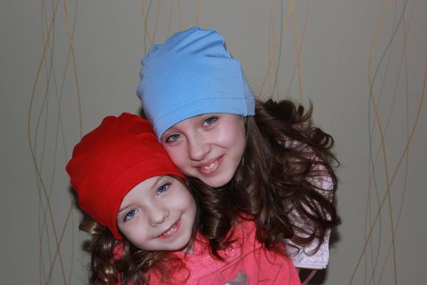 Шьем шапки для детей