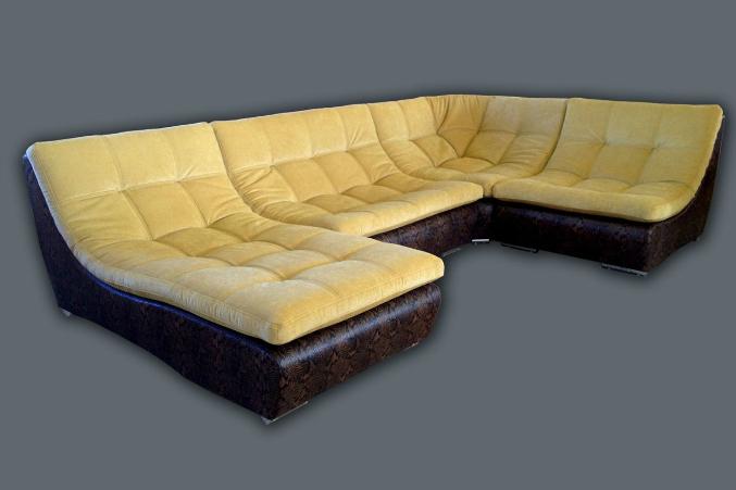 Модульный диван армани сильвер фабрики лагуна