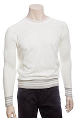 Пуловер Белый Мужской Доставка