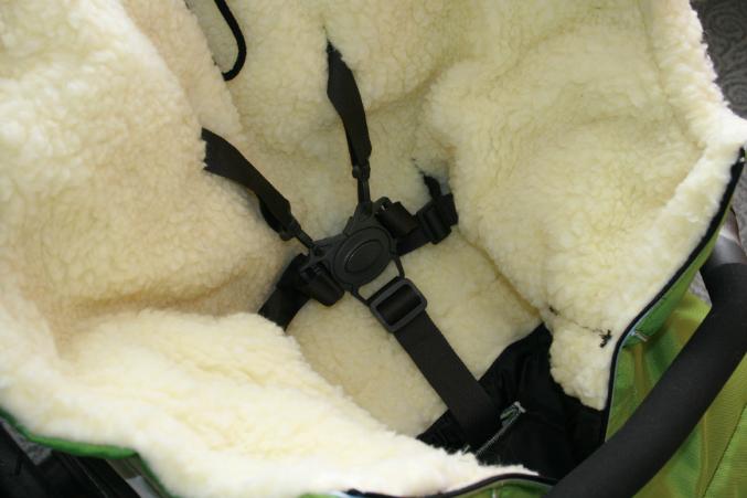 Меховой мешок в коляску своими руками 37