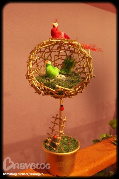 Птичьи гнезда своими руками