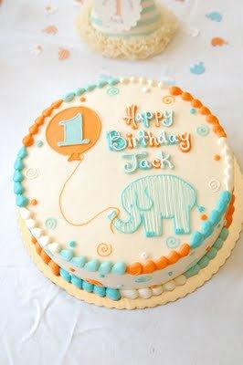 Идея для торта на 1 годик для девочки