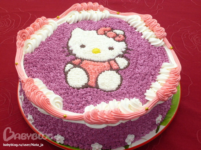 как перенести картинку на торт