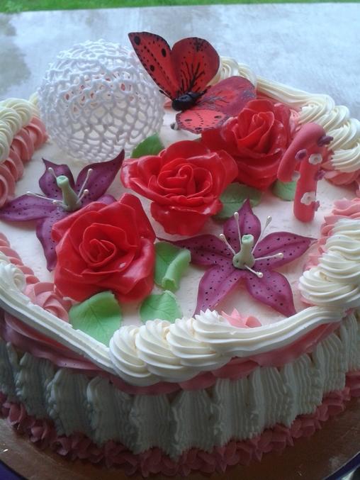 Подарочные коробочки в виде торта фото 6