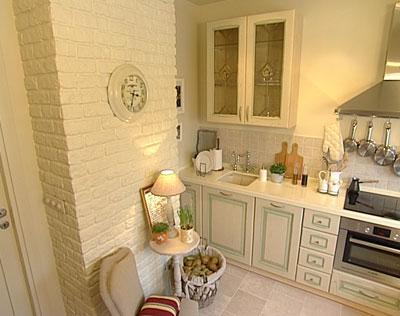 оформление стен на кухне фото своими руками