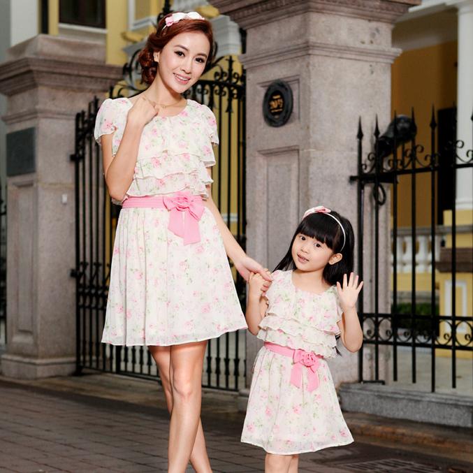 Платья мама дочка недорого