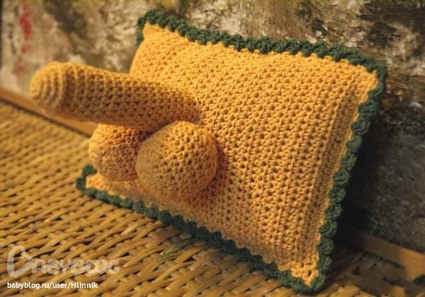 """Вот много раз видела подушку """""""