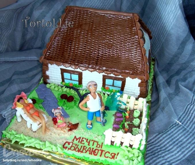 Торт дом как его сделать 68