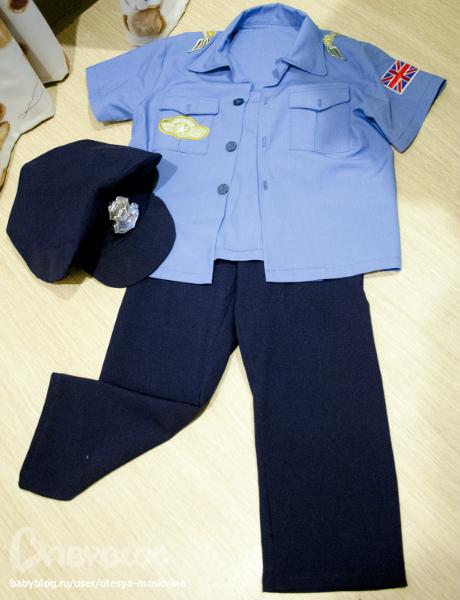 Как сшить своими руками куклу полицейского своими руками