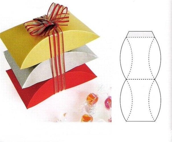 Красивая упаковка из бумаги своими руками