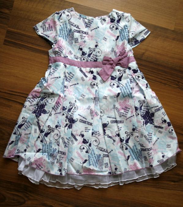 10201fef0b9 Платье Фирма  Мир детства. Размер  есть розовое 104 и фиолетовое 110 рост.  Материал верха  текстиль. Состав  100% ПЭ Подкладочная ткань  35% хлопок