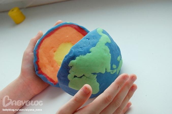 Макет земли из пластилина своими руками 159