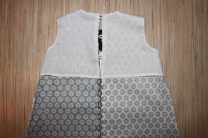 Как вшить в платье без рукавов подклад